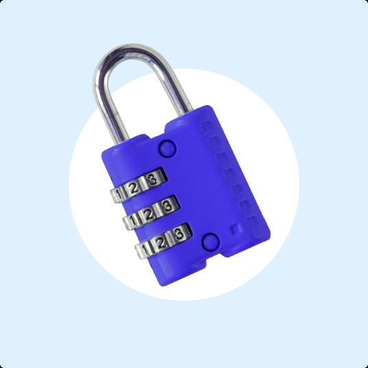 Numbered lock